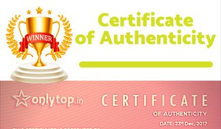 Check Certificate of Authencity provided by 5th.in