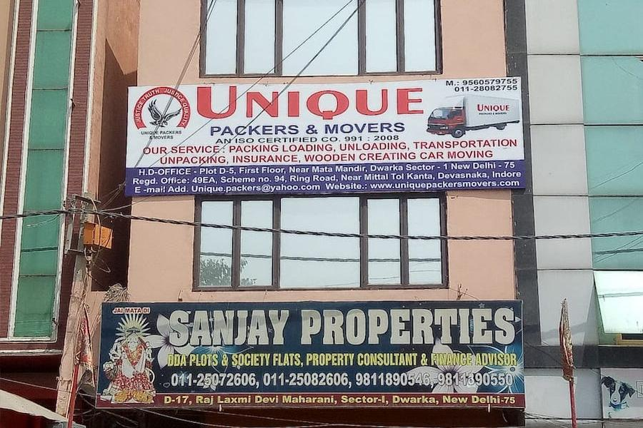 Office Photo of Unique Packers & Movers