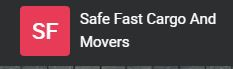 Safe Fast Cargo And Movers